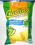 Cadina Crunchy Pea Snack Basil - A Twisted Corn Pea?