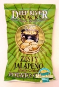 Deep River Snacks Zesty Jalapeño Chips – Some Like It Hot & Oniony
