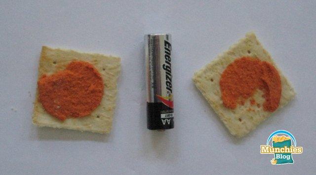 Doritos Nacho Cheese on Golden Toast Crackers Review