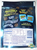 Flipz Double Dipped Peanut Butter Chocolate Covered Pretzels - bag - back