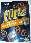 Flipz Double-Dipped Peanut Butter & Chocolate Covered Pretzels
