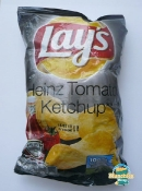 Lay's Heinz Tomato Ketchup Chips - As Opposed to Vinegar Ketchup?
