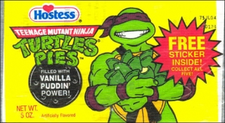 Teenage Mutant Ninja Turtle Pudding Pies