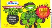 Munchies From My Past - Teenage Mutant Ninja Turtle Pudding Pies