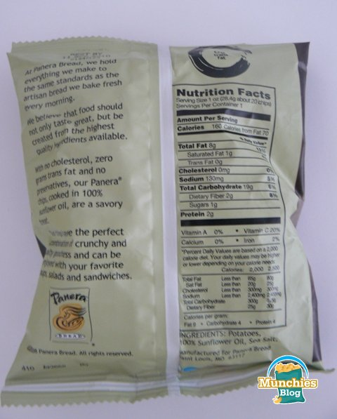 Panera Bread Chips Review Munchies Blog