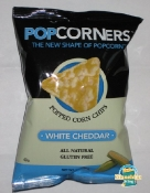 PopCorners Popped Corn Chips in White Cheddar - A Snack Evolution...With Cheese!