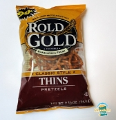 Rold Gold Pretzels Classic Style Thins - A Salt-Lover's Dream