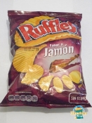 Ruffles Sabor a Jamon - Like Potatoes and Deli Meat