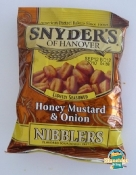 Snyders - Honey - Mustard - and - Onion - Nibblers - Bag - Front