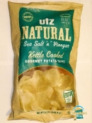 Utz Natural Kettle Cooked Sea Salt and Vinegar - Naturally Greasy