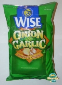 Wise Onion and Garlic Potato Chips - Full Price, Empty Bag