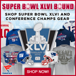 Shop for 2012 Super Bowl & 2011 Conference Champ Gear